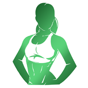 Girl-Logo-GREEN-custom-2019-300x300px-exercise-program-meal-planning